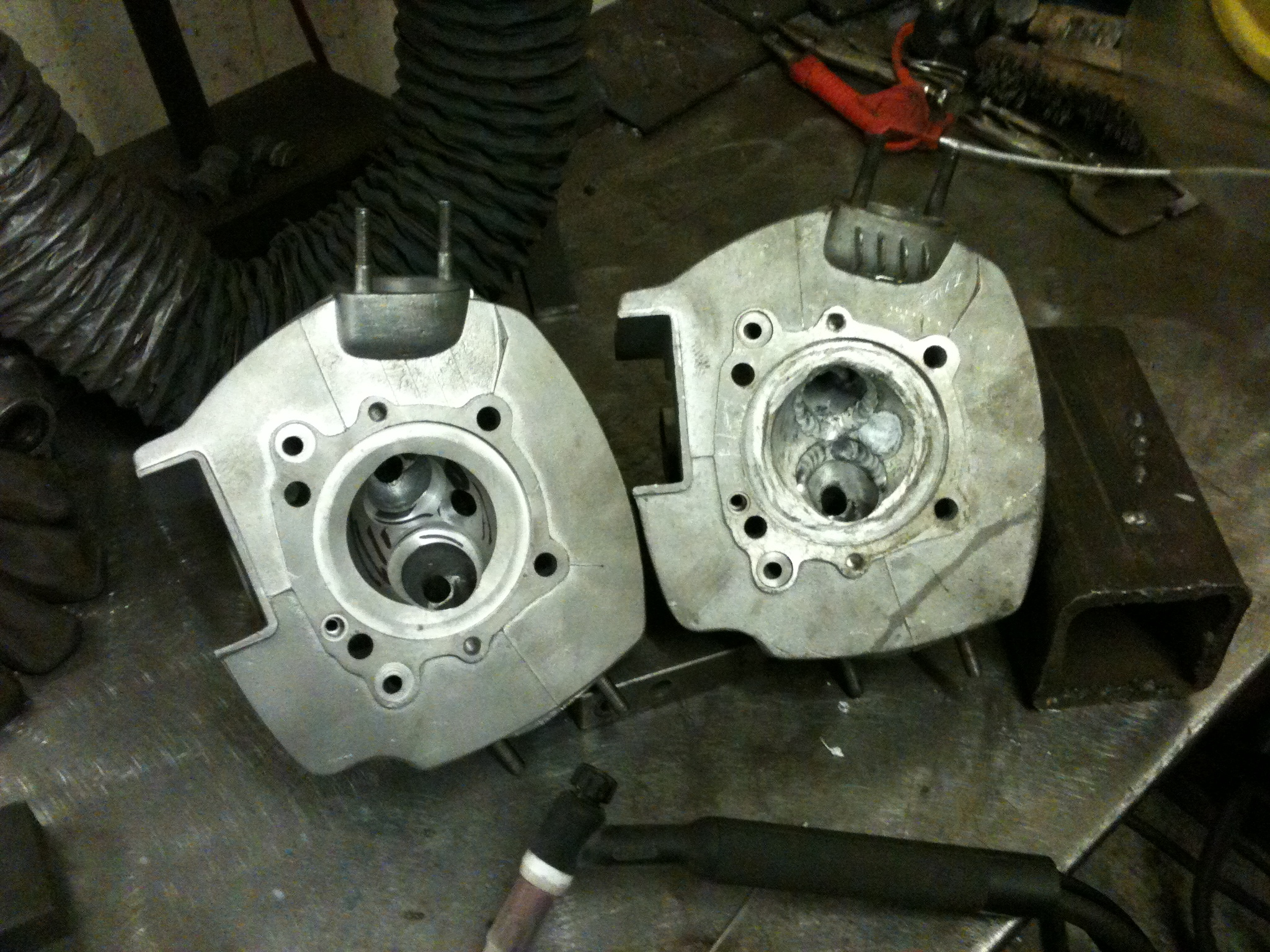 Welding Cylinder Heads : Specialist welding service london surrey the south east