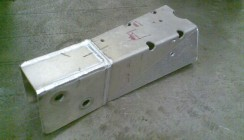 Fabricated Aluminium Engine Mount