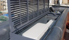 Aluminium Louvered Grill