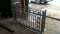 Fabricated Cast Iron Balcony